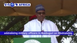 VOA60 Africa - Nigeria: 39 soldiers were killed this month in a series of attacks