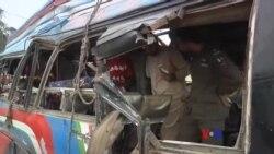巴基斯坦巴士炸彈爆炸 15死30傷