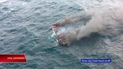6 người Việt mất tích trong vụ cháy tàu cá Hàn Quốc