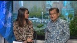 Liputan Khusus VOA: Wapres Jusuf Kalla 'Cegah Konflik untuk Hindari Krisis Pengungsi'