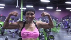 Oldest Female Competitive Body Builder: 'Determined, Dedicated, Disciplined'