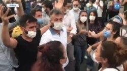 İstanbul Sözleşmesi Eyleminde Polis Müdahalesi