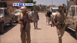 VOA60 AFRIKA: LIBYA Dakarun Libya Sun Yiwa Mayakan ISIS Kawanya a Wani Dan Karamin Yanki a Birnin Sirte