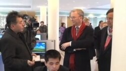美国代表团访问朝鲜