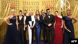 """Ekipa serije """"Schitt's Creek"""" na prošlogodišnjoj dodeli Emi nagrada u Los Anđelesu."""