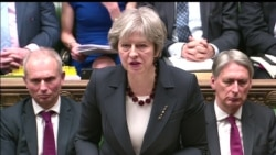 British PM May on Expulsion of Russian Diplomats