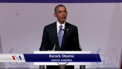 ڕاپـۆرتێـک سەبارەت بە وتاری سەرۆک ئۆباما لە کۆنگرەی G20