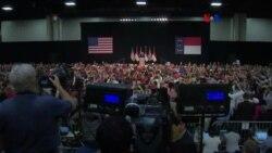 Trump visita Luisiana tras renuncia de Manafort