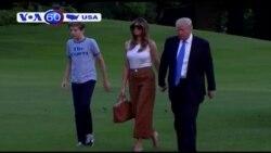 Bà Trump chuyển về sống tại Toà Bạch Ốc