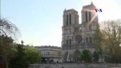 Փրկվել է Փարիզի Սուրբ Աստվածամոր տաճարում պահվող կոթողների մեծ մասը