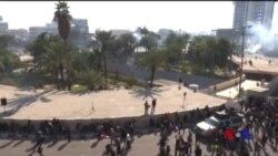 伊拉克抗議民眾遭當局阻撓