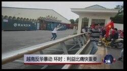 媒体观察:越南反华暴动,环时:利益比痛快重要