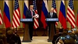 Як Путін Трампу футбольного м'яча передав. Відео