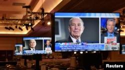 Bloomberg vertement critiqué lors du débat de mercredi