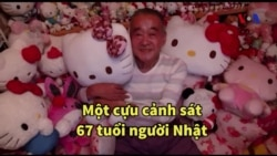 Cựu cảnh sát tốn tiền tỷ vì 'mê' Hello Kitty