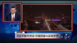 媒体观察:习近平新年贺词 吁国民奋斗实现梦想