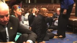 Aksi Duduk dan Ofensif Medsos Anggota Kongres AS