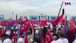 Cumhurbaşkanı Erdoğan'ın Yenikapı Mitinginden Satırbaşları
