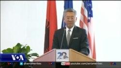 Ambasadori Lu flet për krimin e organizuar
