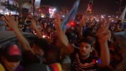 2018-05-14 美國之音視頻新聞: 伊拉克什葉派慶祝薩德爾派在選舉中領先