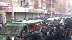 Öldürülen PKK Üyelerinin Cenaze Töreni Olaysız Geçti