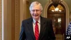 میچ مککانل رهبر اکثریت جمهوریخواه مجلس سنا