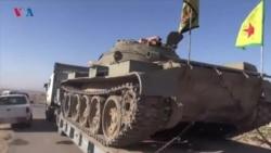 هەڵمەتی هێزەکانی سوریای دیموکرات لە باشوری کۆبانی
