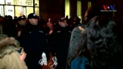 New York Üniversitesi'nde Trump Kavgası
