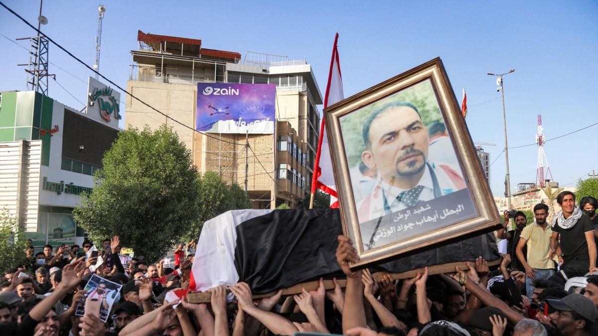 Aktivis Dibunuh, Protes-protes Pecah di Irak