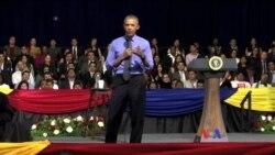 奧巴馬鼓勵拉美和加勒比海年輕領袖向前看