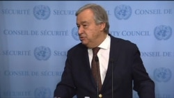 Guterres: Travel Ban 'Spreads Anxiety & Anger'