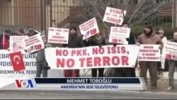 Ankara Saldırısında Ölenler Washington'da Anıldı