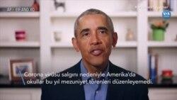 Obama Online Mezuniyet Töreninde Gençlere Hitap Etti