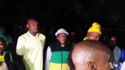Mourners Singing Outside Winnie Madikizela-Mandela's Home