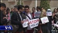 Protesta për mbrojtjen e Valbonës