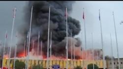 2013-08-07 美國之音視頻新聞: 肯尼亞主要國際機場因火災而關閉