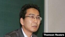 일본 언론인 기타즈미 유키 씨.