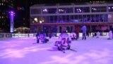 Olahraga Seluncur Hoki Es Untuk Anak Muda Disabilitas