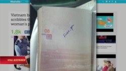 Nhân viên cửa khẩu VN viết từ chửi tục vào hộ chiếu TQ