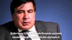 Mixail Saakaşvili Ukrayna vətəndaşlığından məhrum edilməsindən danışıb