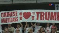 Người Mỹ gốc Hoa ủng hộ ông Trump đi ngược lại xu hướng toàn quốc