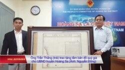 Việt Nam tiếp nhận thêm một bản đồ khẳng định chủ quyền ở Hoàng Sa