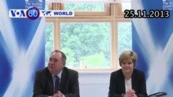 Scotland chuẩn bị tuyên bố độc lập khỏi Vương quốc Anh (VOA60)