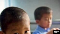 세계식량기구(WFP)가 제공한 학교 급식을 먹은 북한 어린이들. 사진=WFP.