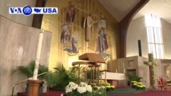VOA60 America - US bishops gather for a conference this week to confront a reignited sex-abuse crisis