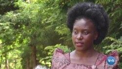 A única candidata presidencial do Uganda diz que a liderança precisa mudar
