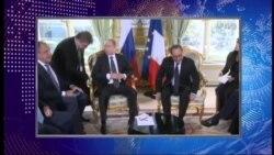 Олланд в ПАСЕ: «Я готов встретиться с Путиным в любое время»