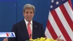 Ông Kerry: TQ vẫn khiêu khích ở Biển Đông sẽ buộc Mỹ hành động