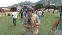 "Venezuela: guardias reprimen ""Gran Plantón"""