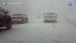 Soğuk Hava ve Yoğun Kar Ulaşımda Sorunlara Yol Açtı